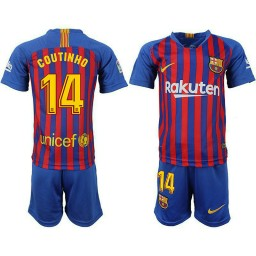 sale retailer aac9d a90ad Youth Barcelona Philippe Coutinho Home Away 3rd Jersey ...