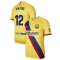 2019/20 Barcelona Authentic Stadium #12 Patricia Guijarro Yellow Away Jersey