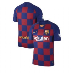 2019/20 Barcelona Authentic Home Blue Red Jersey