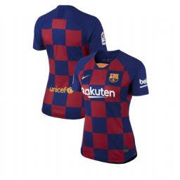 WOMEN 2019/20 Barcelona Authentic Home Blue Red Jersey