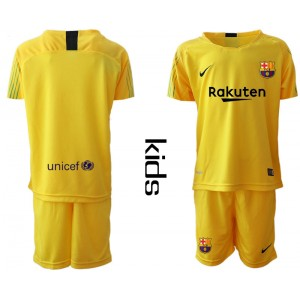 YOUTH 2019/20 Barcelona Goalkeeper Yellow Jersey