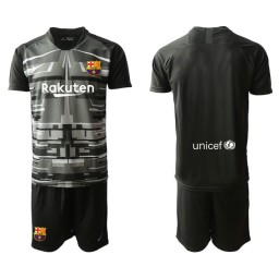 2019/20 Barcelona Goalkeeper Black Goalkeeper Jersey