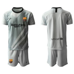 2019/20 Barcelona Goalkeeper Gray Goalkeeper Jersey