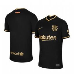 2020/21 Barcelona Black Authentic Away Jersey